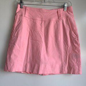 JOFIT Pink Pull-On Golf Tennis Skort Skirt ~Small